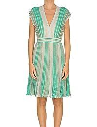 c1f788562abe NENETTE Vestito Donna MCGLVS0000005078E Viscosa Verde