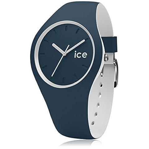 ICE-Watch - 000362 - Duo - Montre Homme - Quartz Analogique - Cadran Bleu - Bracelet Silicone Multicolore