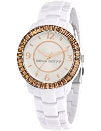 Miss Sixty R0753118503 - Reloj con correa de caucho para mujer, color marrón / gris