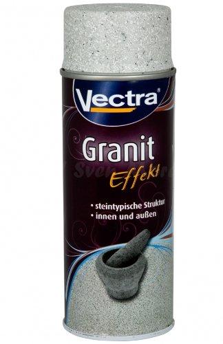 Vectra 6534 Granit Effekt Spray Hellgrau Matt 400ml UN1950 (ALA39)
