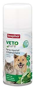 Beaphar - VETOpure, spray répulsif antiparasitaire - chien et chat - 150 ml
