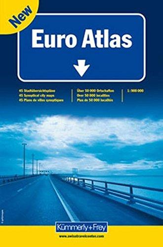 Euro Atlas 2012 por Kümmerly + Frey