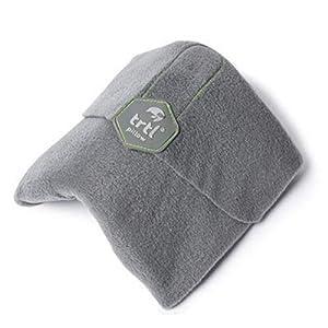 trtl Pillow – Wissenschaftlich belegt super weiches Nacken unterstützendes Reisekissen – Waschmaschinenfest (Grau…