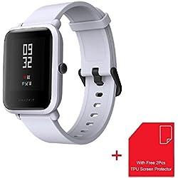 Xiaomi AMAZFIT Bip - Reloj inteligente con Bluetooth, GPS, medición de frecuencia cardíaca, ligero, 32 g, impermeable IP68
