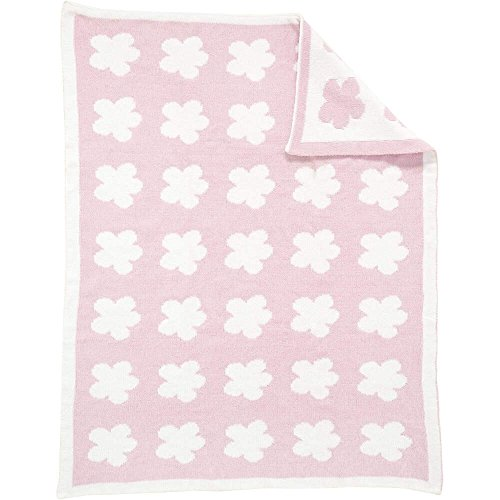 Magnifique Rose bébé fille chenille Sweet Dreams Landau/couffin Couverture