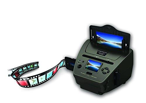 DIGITNOW! Multiscanner für Fotos, Dias, Negativ, und Namenskarten, 35 mm Dia-Film-Foto-Scanner Konvertiert Dias zu Digital und Speichert Es auf SD-Karte