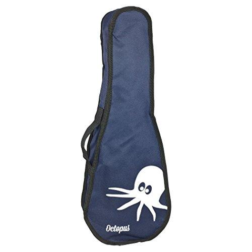 Octopus Ukulele, borsa per ukulele, modello UK51C-512 Copertura Ukulele soprano Blue