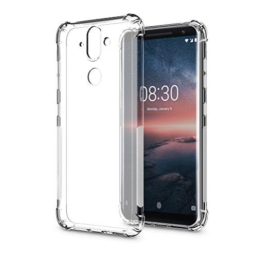 Nokia 8 Sirocco screen protector, 【1 pack】COOKAR Ultra