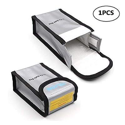 Crazepony-UK Lipo Battery Safe Bag for DJI Phantom 3 Phantom 4 Battery Storage