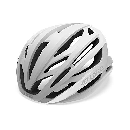 Giro Casco Ciclismo 2019 Syntax Matte Blanco-Plata (S 51-55Cm, Plata)