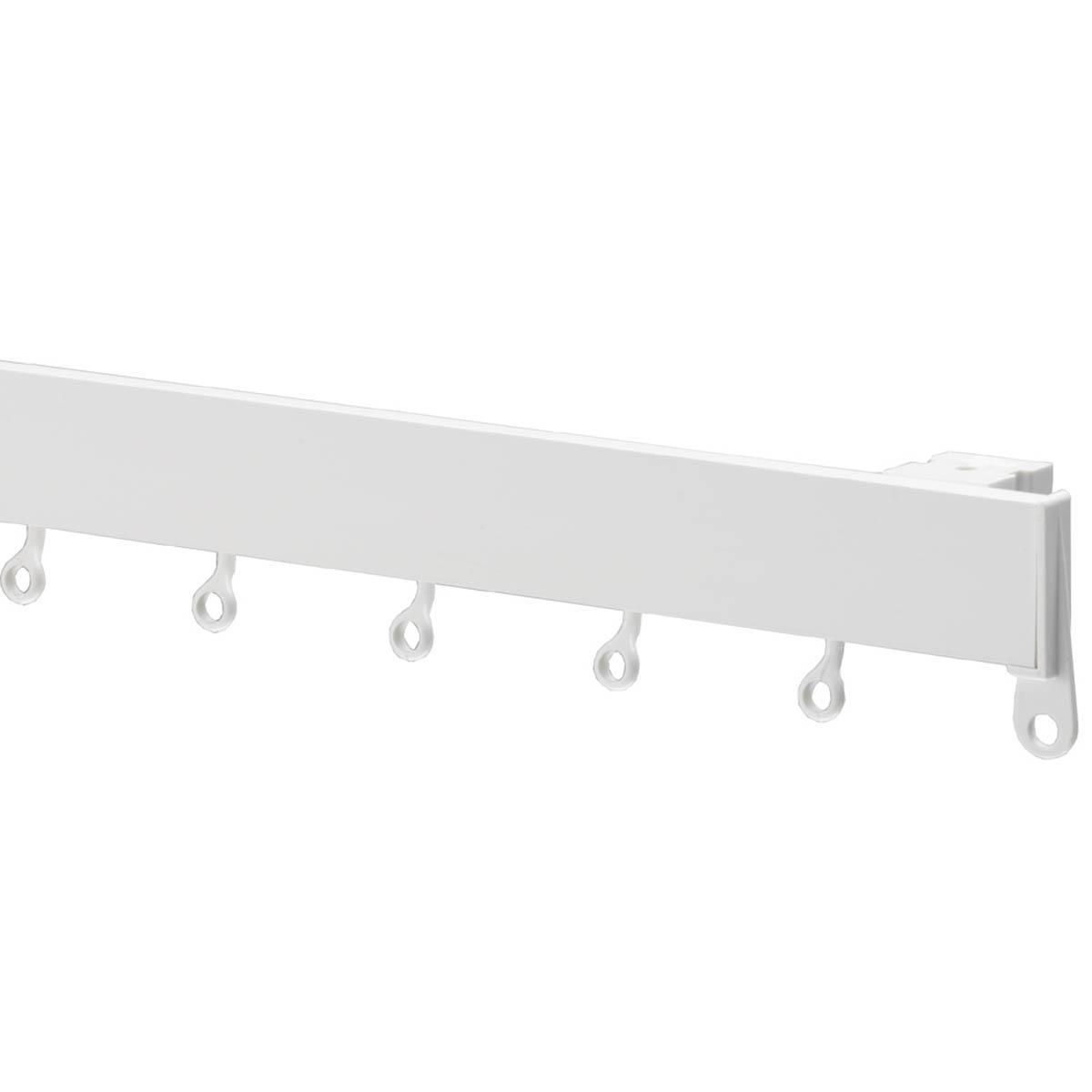 Swish Deluxe Curtain Track White Brackets (Pk 5): Amazon.co.uk ...