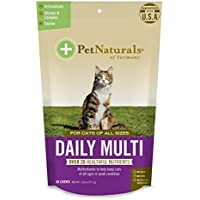 Diario Multi para gatos, Multivitaminas fórmula, 30Bite tamaño–Chucherías