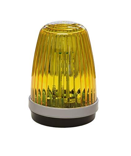 Schartec Profi-Signalleuchte 12-24 V & 230 V Torantrieb Warnleuchte Warnlicht gelb Blinkleuchte