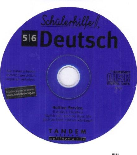 Schülerhilfe CD-Rom Deutsch 5. & 6. Klasse Lernsoftware Lernhilfe Lernen