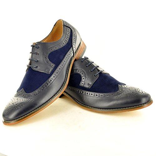 My Perfect Pair , Chaussures de ville à lacets pour homme Bleu