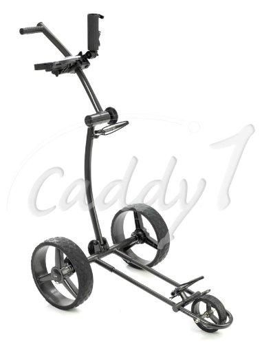Design Golf Trolley CADDYONE 100 grau, nur knapp 6kg