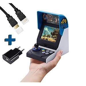 SNK NEO GEO Mini International Konsole 40 th anniversairy Edition inkl. 7m HDMI KABEL, HDMI Mini Adapter und AC ADAPTER/ USB NETZTEIL