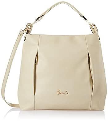Gussaci Italy Women Handbag (Beige)