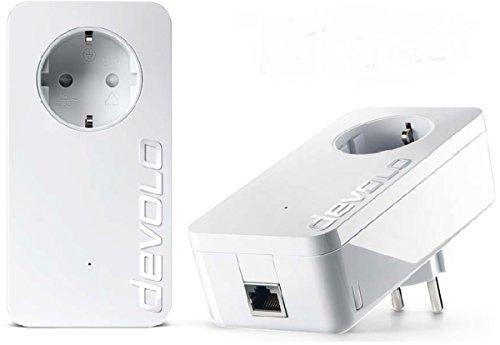 Preisvergleich Produktbild TELEKOM DEVOLO dLAN 1200+ Starter Kit Powerline Set
