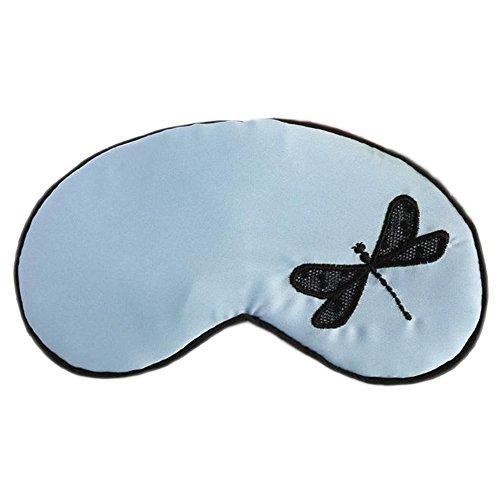 (JUNGEN Schlafbrille Schlafen Nettes Dragonfly Schlaf Kalt Warmhaltepackung Gemütlich Daydream Augenmaske Schlafen Masken,mit Eis)