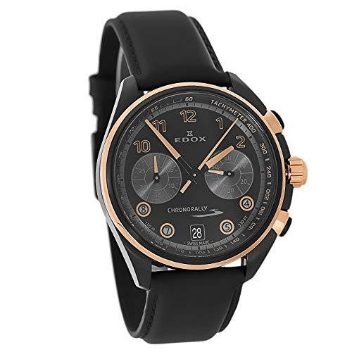 Edox - Reloj cronógrafo para Hombre con cronógrafo S Suizo, 09503 37NRCN NNR