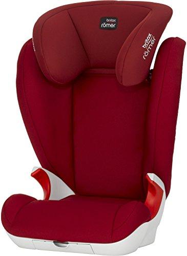 Britax-Romer 2000022496 Kid II Seggiolino Auto, Flame Red