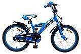 amiGO - BMX Turbo - Bicicletta Bambini - 18'' (per 5-8 Anni) - Blu