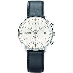 Mens Junghans Max Bill Chronoscope Automatic Chronograph Watch 027/4600.00