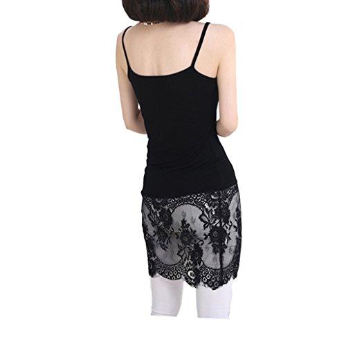 Fengwu Damen Unterhemd Gr. 40, schwarz -