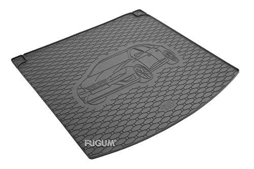 RIGUM Passgenaue Kofferraumwanne geeignet für SEAT Leon ST ab 2014 passen ideal