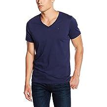 Tommy Hilfiger Original Vn Knit S/S - Camiseta para hombre