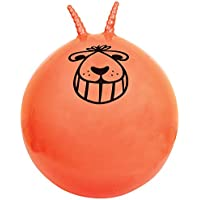 Adults Giant Inflatable Blow Up Bouncing Jumping Retro Space Hopper Outdoor Garden Game Orange