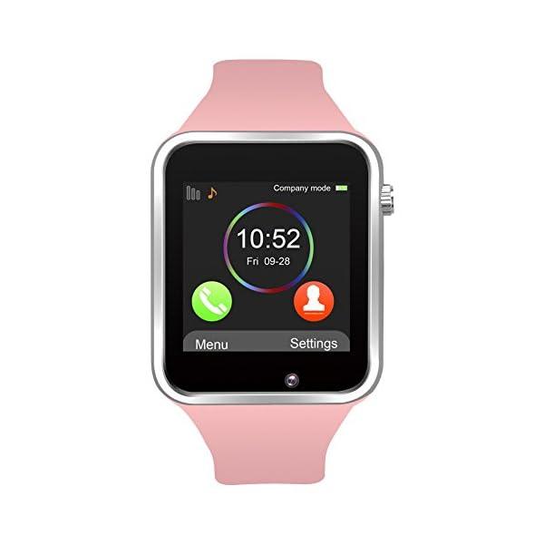 Reloj Inteligente, con Bluetooth y Ranura para Tarjeta SIM para Usar Como Teléfono Móvil. Reloj Deportivo con Rastreador… 1