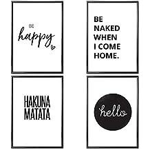 sprche fr bilderrahmen zum ausdrucken deko t room. Black Bedroom Furniture Sets. Home Design Ideas