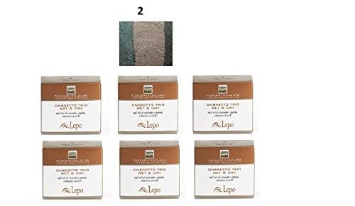 lepo-6-confezioni-di-ombretto-trio-wet-dry-tuscany-n2-prati-di-toscana-verde