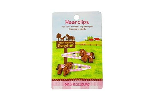 Spiegelburg 11333 Haarclips Mein kleiner Ponyhof