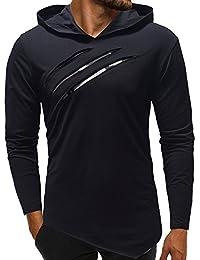 Amazon.fr   Turquoise - Sweats à capuche   Sweats   Vêtements b5d1093a837