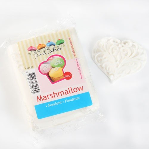 Pâte à sucre blanc marshmallow FunCakes