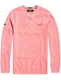 Superdry Garment Dye L.a. Crew, Sudadera Deportiva para Hombre