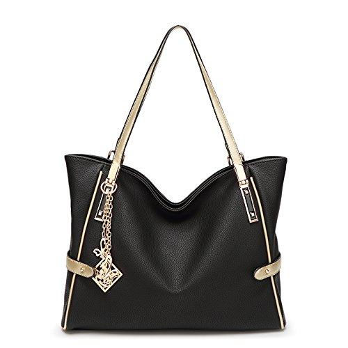 Mefly Nuova Borsa Da Donna Crossbody Bag Claret black