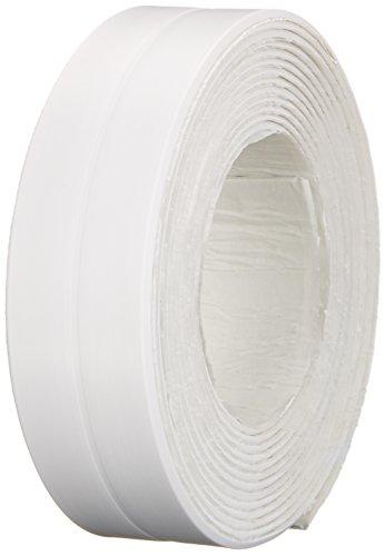 duschwannen dichtband CON:P Abdichtband (PVC frei), Dauerhafte Abdichtung von Badewannen, Waschbecken und Duschen ohne Silikon, 28 mm x 3,2 m, 1 Stück, SA131