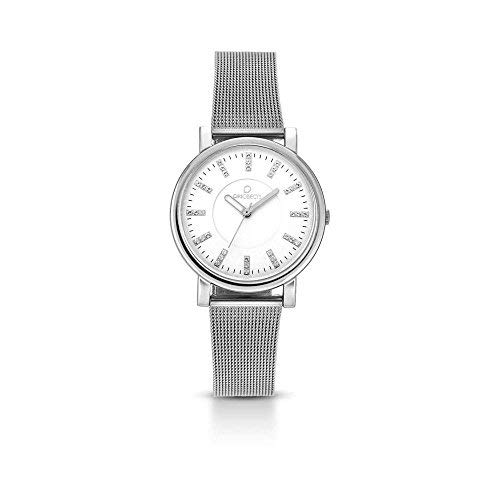 Reloj OPS. Mujer opsposh-76al cuarzo (batería) acero quandrante blanco correa acero