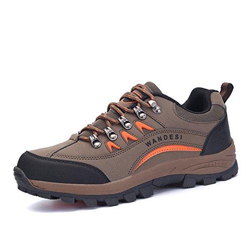 chaussures de sports de plein air pour hommes/Vêtements pour hommes résistant anti-dérapant bottes de randonnée/Chaussures de sport pour hommes A