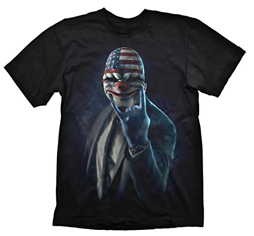 payday-2-t-shirt-rock-on-small-electronic-games-importacion-inglesa