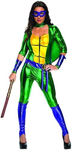 Classic Donatello TMNT Women's Jumpsuit Costume X-Small