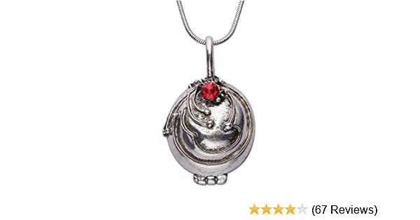 The Vampire Diaries Elena/'s Vervain Antique Bronze Locket Vintage Necklace Chain