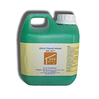 Beize Holzbeize Grün 1000 ml RAL 6017