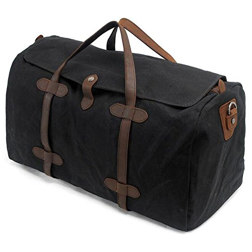 s-zone-vintage-waterproof-waxed-canvas-leather-trim-vacation-holdall-travel-tote-duffle-handbag-week