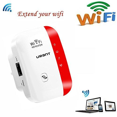 URANT Wireless Network Extender WiFi Repeater WLAN Verstärk...