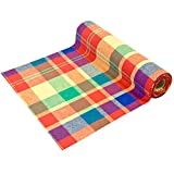 hobi Chemin de Table Madras Multicolore 28cm x 4m (x1) REF/CH544